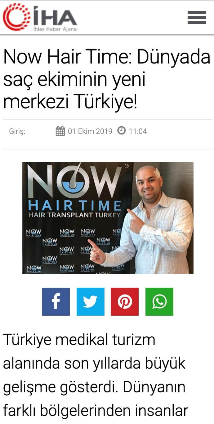 Now Hair Time Media